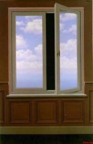 Magritte - Le téléscope