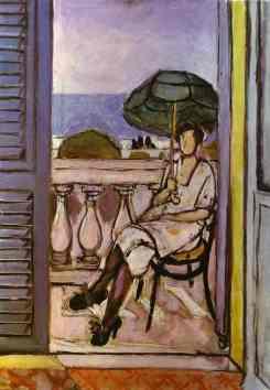 Matisse - Femme avec parapluie