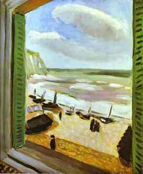 Matisse - Ouvrez la fenêtre 1921