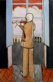 Matisse - Violoniste à la fenêtre-1918