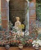 Monet - Camille à la fenêtre