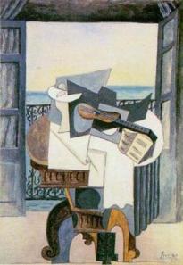 Picasso -La table devant la fenêtre