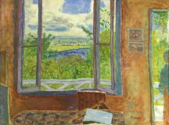 Pierre Bonnard - La fenêtre ouverte sur la Seine
