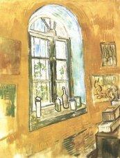 Van Gogh - Fenêtre de la chambre d'hôpital