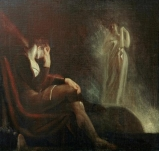 J-H Füssli - Milton, vision de sa femme