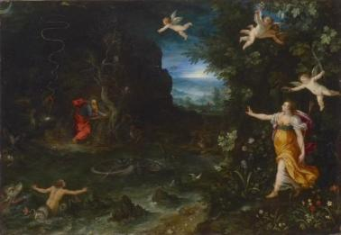 Jean Ier Brueghel & Hans Rottenhammer - Le rêve de Raphaël