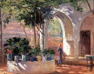 Mustapha Farroukh - Maison Sud Liban 1932