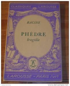 Phèdre - Classique Larousse