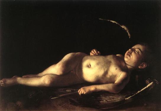 Caravaggio - Amour endormi