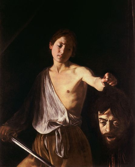 Caravaggio - David avec la tête de Goliath