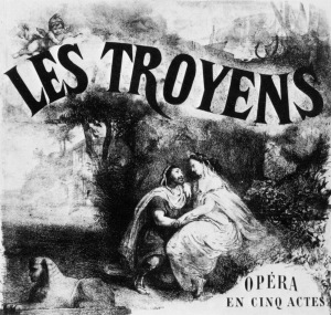 Les Troyens_à_Carthage_1863_poster_by_P_Leray_-_Ian_Kemp_1988_cover