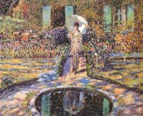 Frederick Frieseke (American artist, 1874-1939) The Garden