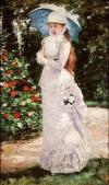Henri Gervex (1852-1929)- portrait de mlle Valtesse de La Bigne