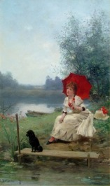 Jules F Ballavoine (1855-1901)
