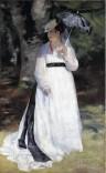 Renoir - Lise ou la femme à l'ombrelle 1867