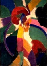 Robert Delaunay - Femme à l'ombrelle 1913