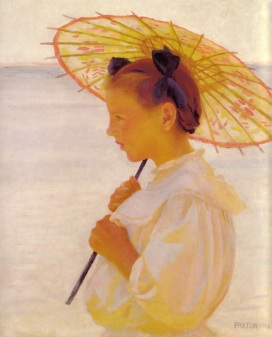 William Paxton - The chinese parasol 1908
