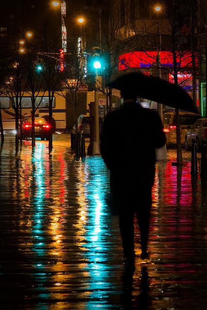 Barry Yanowitz - A rainy night in Union Square