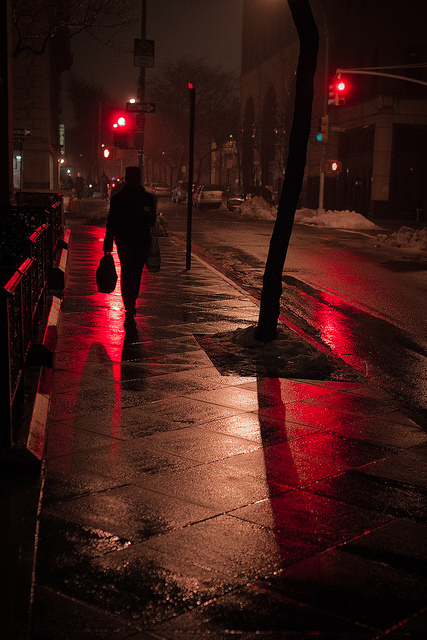 Barry Yanowitz - Misty night red