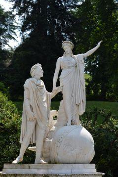 Dante et Béatrice - Giardini di Villa Melzi - Bellagio