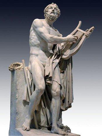 Homère - Philippe-Laurent Roland-1812