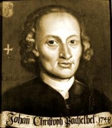 Johann Pachelbel (1653-1706 Nuremberg)