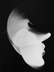 Laszlo Moholy-Nagy - Autoportrait de profil-1922