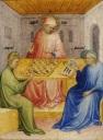 Nicolo di Pietro (XVème) St augustin et Alypius - visite de Ponticianus