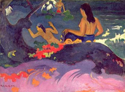 Paul Gauguin, Fatata te Miti (Près de la mer), 1892 -National Gallery of Art, Washington