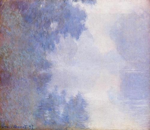 Claude Monet - Brumes sur la Seine 1897 (Mead Art Museum - Massachusets)