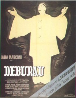 Deburau - Guitry affiche