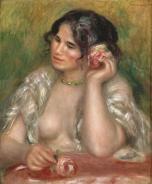 Auguste Renoir - Gabrielle à la rose