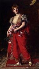 Carolus Duran - La fille de l'émir - fin XIX