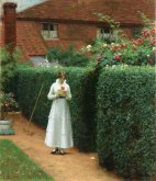 Edmund Blair Leighton - Le billet
