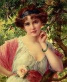 Emile Vernon - A summer rose