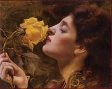 Franz Dvorak - Lady of the roses 1901