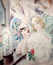 Gerda Wegener (1889-1940) - Femme à la rose