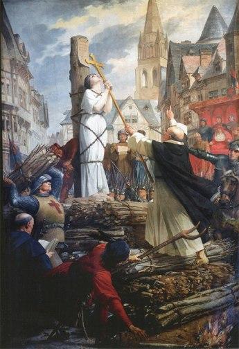 Jules-Eugêne Lenepveu XIX - Jeanne d'Arc au bûcher - Pantheon