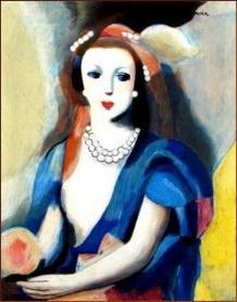 Marie Laurencin - La femme à la rose