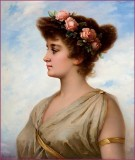 Nathanael Sichel (1843-1907) - Couronne de roses