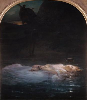Delaroche - La jeune martyre