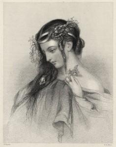 John Hayter - Ophelia 1846