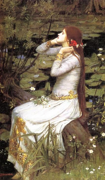 John William Waterhouse - Ophelia