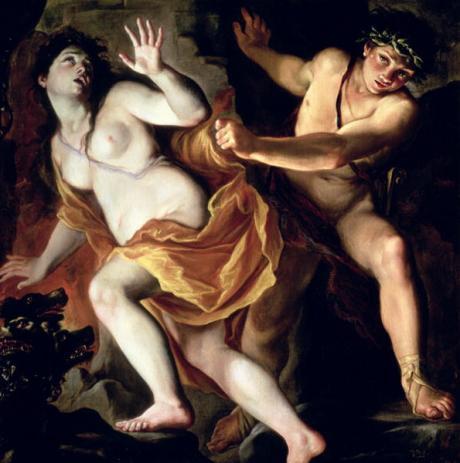 Giovanni Antonio Burrini - Orphée et Eurydice 1697