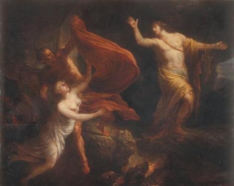 Pierre Lacour père - Orphée perdant Eurydice -1805  (Bordeaux)