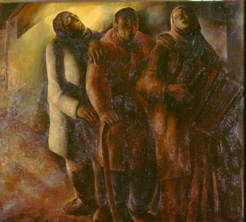 Anto Carte (Belgique 1886-1954) - Les aveugles