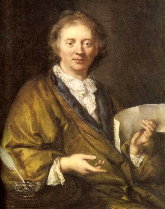 François Couperin (1668-1733) - Artiste anonyme - Collection Château Versailles (Crédit Wikipédia)