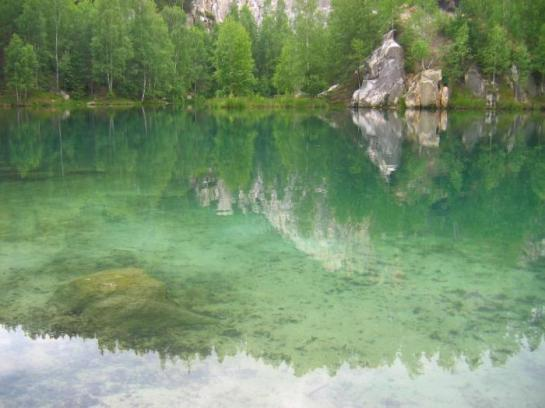 Lac d'Adršpach - près de Prague