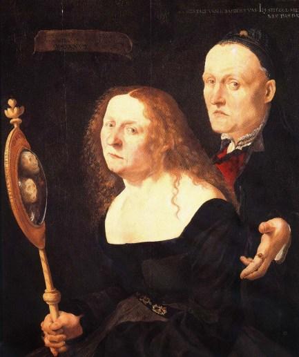 Lucas Furtenagel - Hans+Burgkmair et sa femme Anna 1527 - (Vienne)