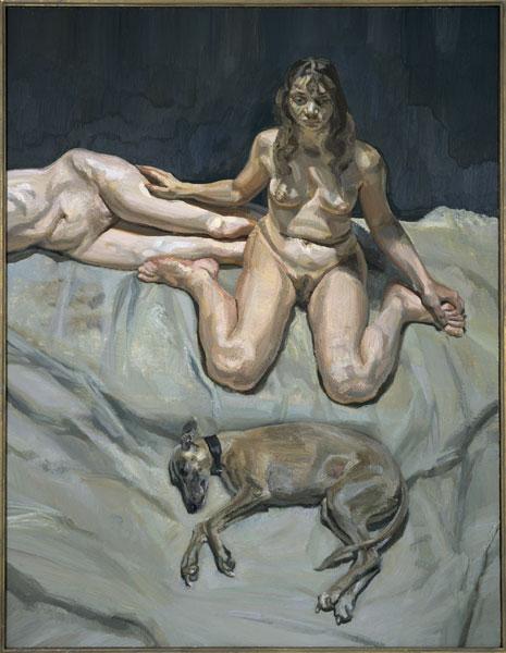 Lucian Freud - Pluto et les soeurs Bateman - 1995
